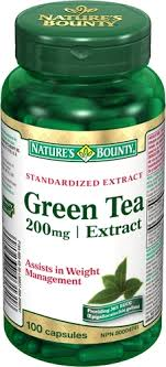 NATURE'S BOUNTY GREEN TEA EXTRACT CAPS 100'S