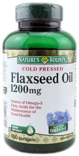 NATURE'S BOUNTY FLAXSEED OIL 100'S