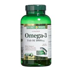 NATURE'S BOUNTY FISH OIL OMEGA-3 SOFTGELS 180'S