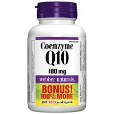 Coenzyme Q10, 100 mg, BONUS! 100% MORE, 30+30 softgels