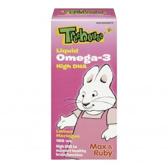 Treehouse Omega 3 Liquid, Lemon Meringue, 165 ml Liquid