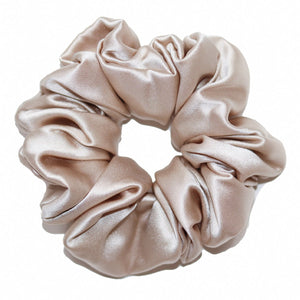 Lazey x Topknot Satin Scrunchies - 2 Pack
