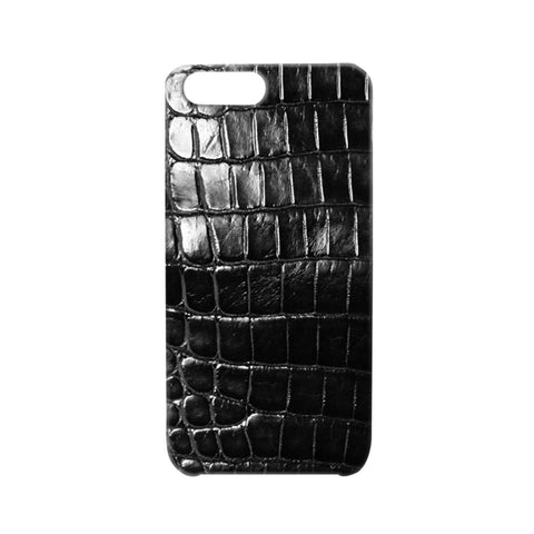 Crocodile Black iPhone Case | Valenz Handmade