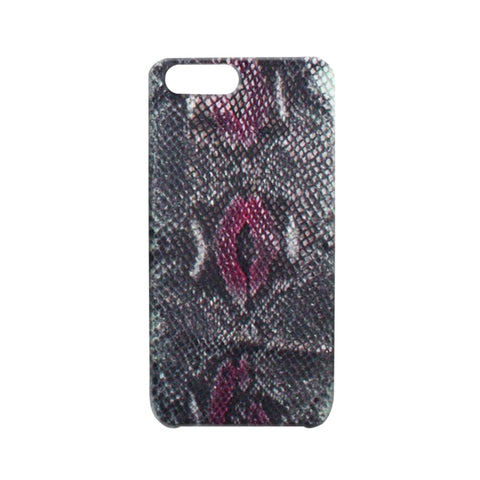 Embossed Snakeskin Multi Color Pink iPhone Case | Valenz Handmade