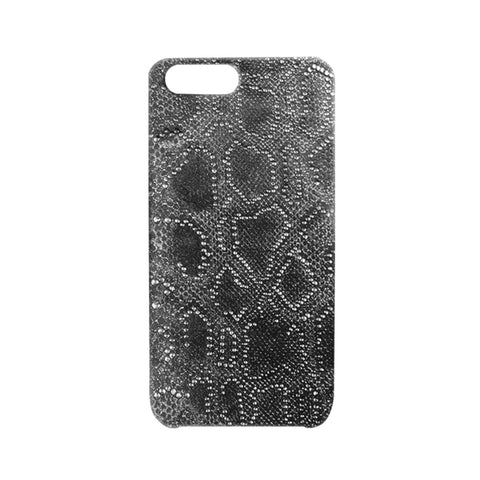 Italian Leather Studded Silver iPhone Case | Valenz Handmade