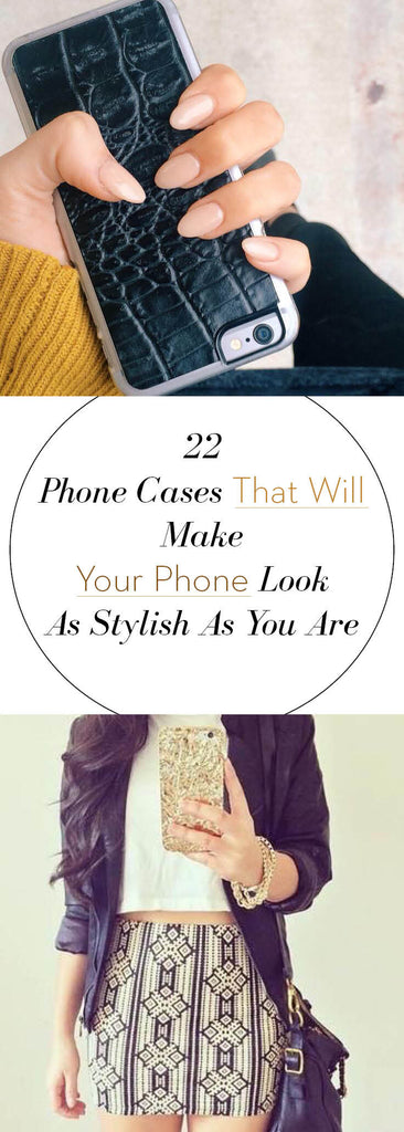 22 Phone Cases That Will Make Your Phone Look As Stylish As You Are | Valenz Handmade