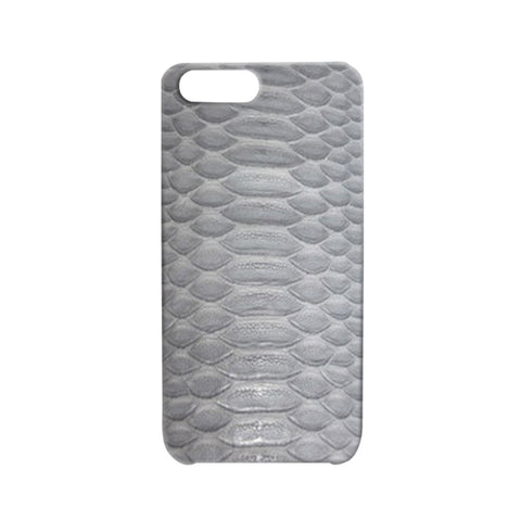 Matte Python Gray iPhone Case | Valenz Handmade