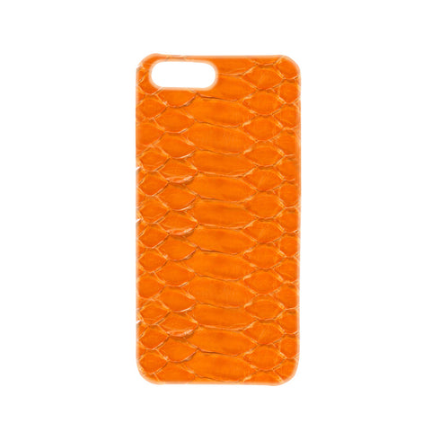 Glossy Python Orange iPhone Case | Valenz Handmade