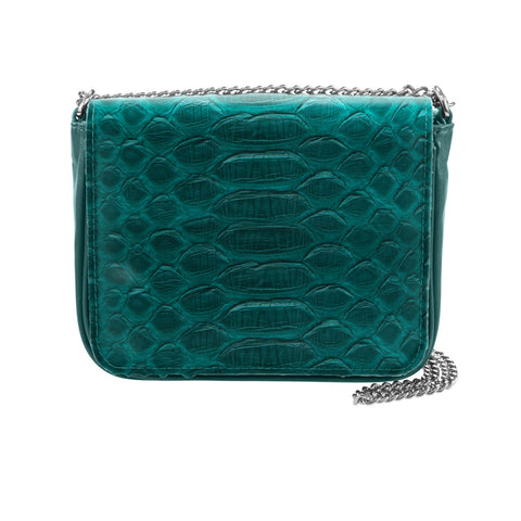 Sharon Green Python Crossbody Bag | Valenz Handmade