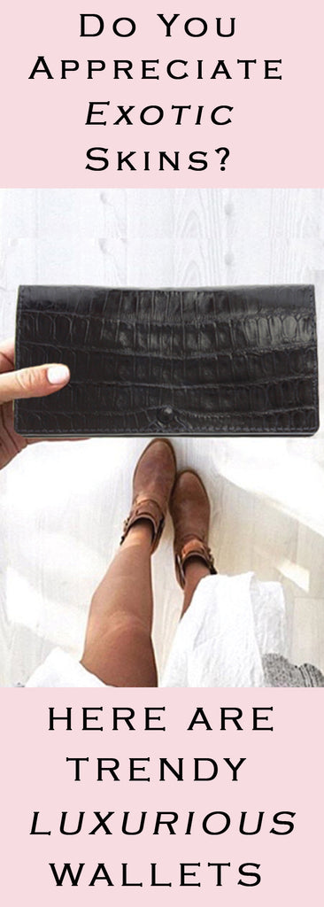 Do You Appreciate Exotic Skins? Here Are Trendy Luxurious Wallets With Exotic Skins Blog