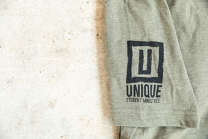 UNIQUE FOCUS Sage Green T-Shirt