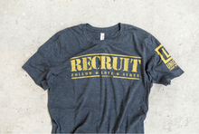 Load image into Gallery viewer, UNIQUE RECRUIT Dark Grey T-Shirt