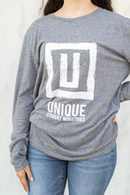Load image into Gallery viewer, UNIQUE Light Grey long sleeve