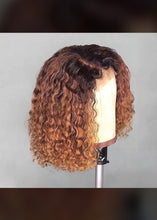 Load image into Gallery viewer, Queen's Ombré Curly Bob Wig