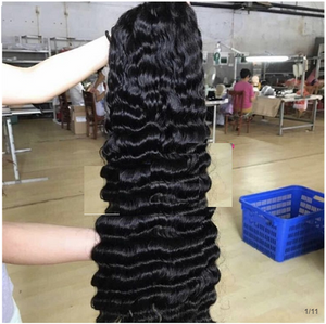 High Density Deep Wave Human Hair Wig(13*4)
