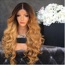 Load image into Gallery viewer, 1B/4/30 Ombré Body wave Lace Front Wig