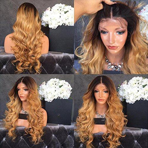 1B/4/30 Ombré Body wave Lace Front Wig