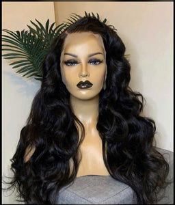 High Density Body Wave Front Lace Wig(13*4)