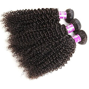 Brazilian Virgin Kinky Curly Hair 3 Bundles