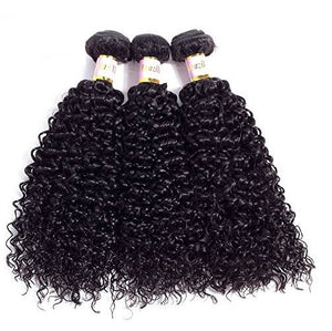 Indian Jerry Curly Hair 3 Bundles