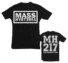 Load image into Gallery viewer, MASS HYSTERIA T-shirt (BLACK, MEN)