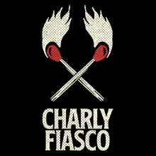 Load image into Gallery viewer, CHARLY FIASCO T-shirt (BLACK, MEN)