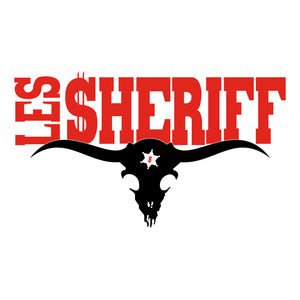 LES SHERIFF Trucker cap (BLACK)