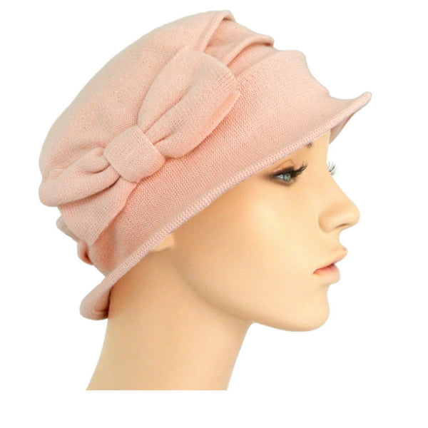 fine cotton knit cloche