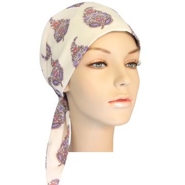 full crown fitted scarf