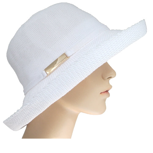 medium brim sunhat with sun protective lining