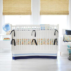 Rhapsody in Blue Crib Bedding Collection
