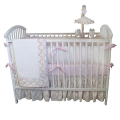 Emma Luxury Crib Bedding Collection