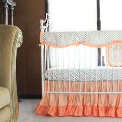 Coral Crib Bedding | Coral Baby Bedding Collection