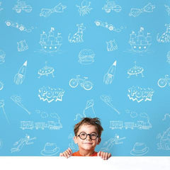 Removable Wallpaper for Nursery, Kids Rooms