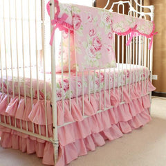 Shabby Chic Roses Baby Bedding Collection