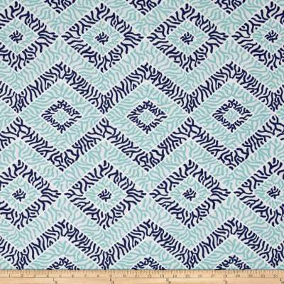 Sea Diamond Vintage/Indigo/Canal Fabric by the Yard-Fabric-Jack and Jill Boutique