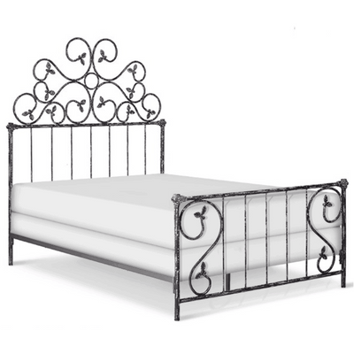 Corsican Iron Standard Bed 1021 | Standard Bed with Vines