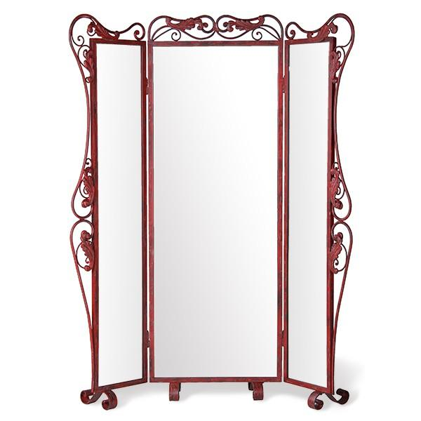 Three Way Paris Standing Mirror-Standing Mirror-65W x 9.5D x 79H-Free Curbside-Jack and Jill Boutique