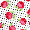 Fitted Crib Sheets | Tea Room Rosy Dots-Crib Sheets-Default-Jack and Jill Boutique