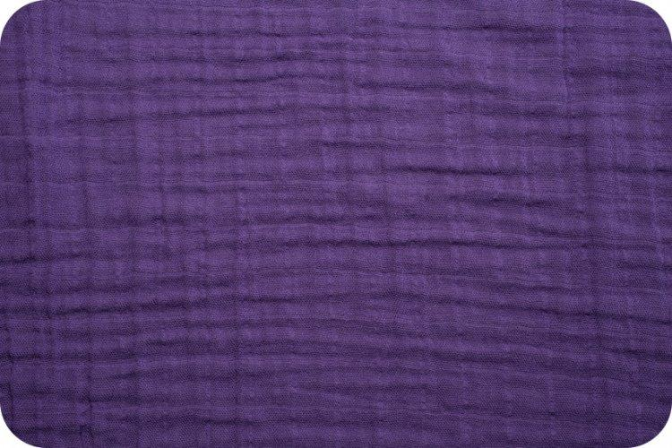 Solid Embrace Amethyst | Double Gauze Cotton-Fabric-Jack and Jill Boutique