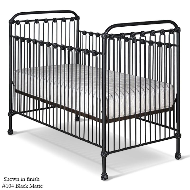 Classic Stationary Iron Crib-Crib-Default-Jack and Jill Boutique