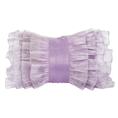 Pillow: Ruffle-Pillow-Lavender-Jack and Jill Boutique