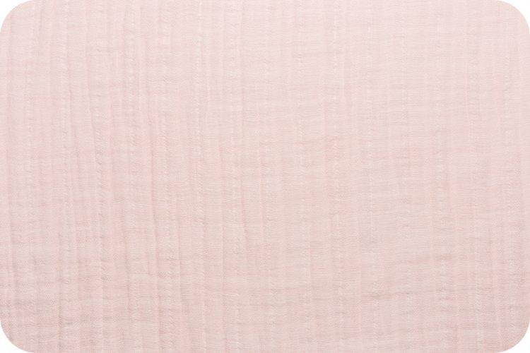 Solid Embrace Baby Pink | Double Gauze Cotton-Fabric-Jack and Jill Boutique