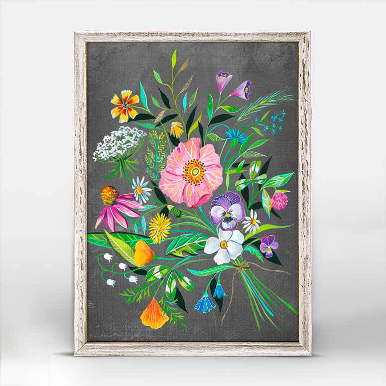 30 Year Bouquet - Mini Framed Canvas-Mini Framed Canvas-Jack and Jill Boutique