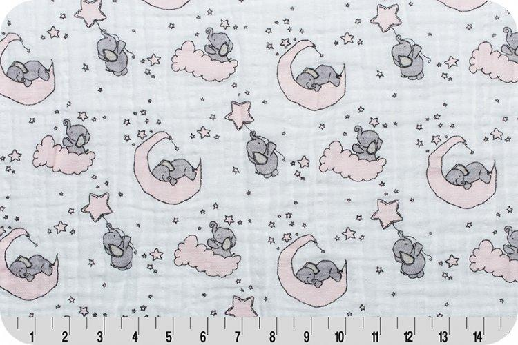SMD Little One Cotton Embrace® Blush | Double Gauze Cotton-Fabric-Jack and Jill Boutique