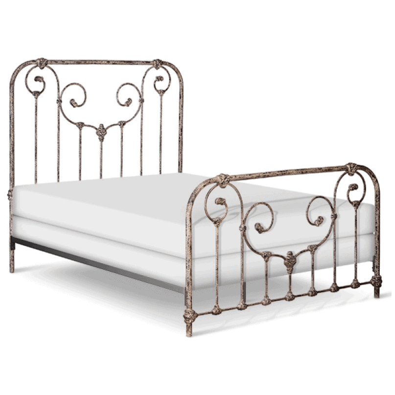 Corsican Iron Standard Bed 40150 | Standard Ajaccio Bed-Standard Bed-Jack and Jill Boutique