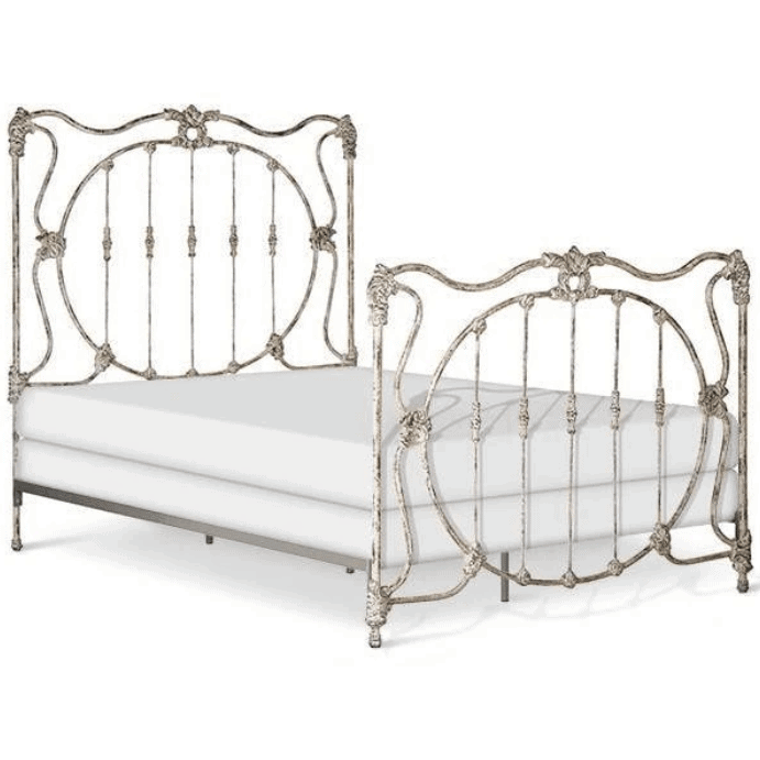 Corsican Iron Standard Bed 41698 | Standard Williamsburg Bed-Standard Bed-Jack and Jill Boutique