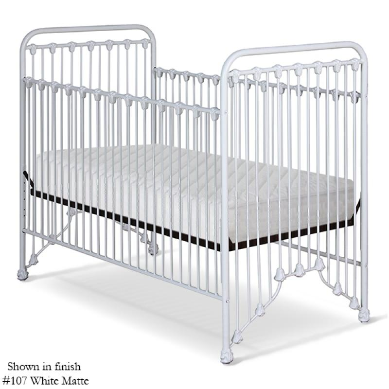 Corsican Iron Cribs 41724 | Stationary Crib-Cribs-Jack and Jill Boutique