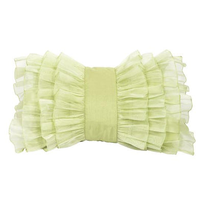 Pillow: Ruffle-Pillow-Green-Jack and Jill Boutique