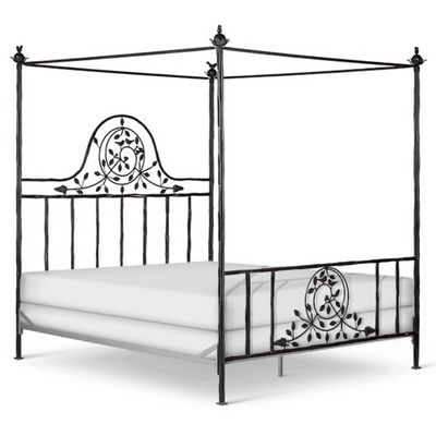 Corsican Iron Canopy Bed 42686 | Twiggy Canopy Bed